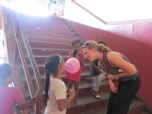 Chatting with the Kids in Kota Kinabalu, Malaysia