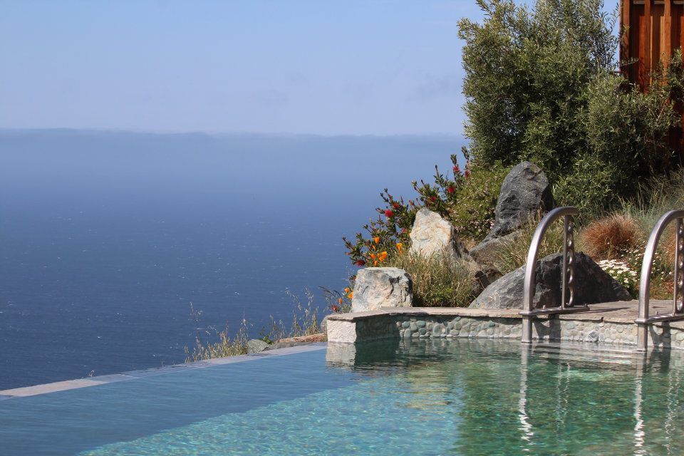 Infinity Pool at Post Ranch Inn. Big Sur, CA