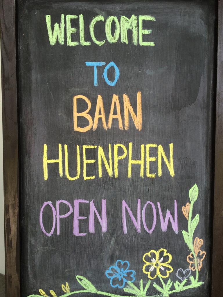 Newly opened Baan Huen Phen